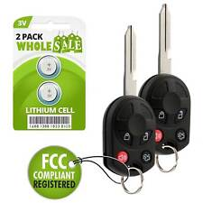 2 Replacement For 2005 2006 2007 Ford Escape Key Fob Remote