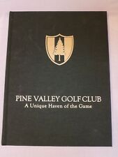 Pine Valley Golf Club A Unique Haven of the Game James Finegan Book Hardback '00