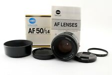 Minolta AF 50mm F/1.4 New Prime Lens For Sony w/Box Near Mint Japan Tested #5910