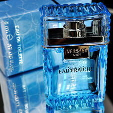 Versace Man Eau Fraiche EAU DE TOILETTE 5ml 0.17oz Men Cologne MINI Perfume NIB