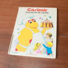 1978 Casimir et la leçon de cuisine Izard Enfantina Livre enfant