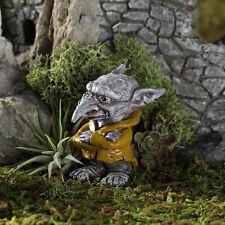 Ichabod the Troll GO 17598 Miniature Fairy Garden Dollhouse