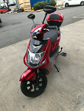 Electric Bike Scooter Moped UK Road Legal No Licence Tax Insurance needed Red