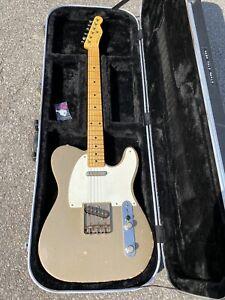 2014 Nash T-63 Guitar, Maple Neck, Shoreline Gold Relic