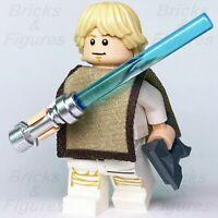 New Star Wars LEGO® Luke Skywalker with Poncho Jedi Padawan Minifigure 75271