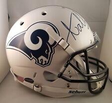 Aqib Talib Autographed Signed Full Size Custom Helmet LA Rams PROVA JSA