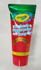 Crayola Bathtub Fingerpaint Soap, Color Radical Red Raspberry 6 oz