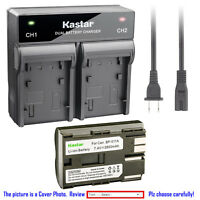 Kastar Battery Dual Fast Charger for Canon BP-511 511A PowerShot G2 PowerShot G3