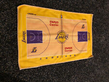 Los Angeles Lakers Staples Center Court Rally Towel Official NBA Merchandise
