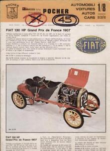 catalogo POCHER 1974 AUTO 1/8 scale               IT F D E   aa