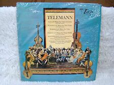 Telemann Suite in D Major, Concerto in F/G Major Vinyl Album, Turnabout Records