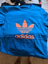 Adidas mens t shirt size med 100% official
