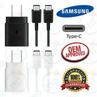 Original Samsung Galaxy Note20 / Ultra Super Fast Wall Charger Type C Data Cable
