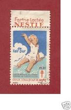 1931 Poster Stamp Nestle Farine Lactee - Tuberculosis Prevention