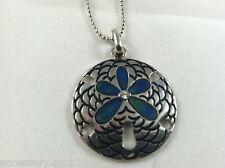 New Sand Dollar Mood necklace Color Change Mood Charm Pendant