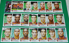 PANINI FOOTBALL FOOT 2007 STADE RENNAIS RENNES ROAZHON COMPLET FRANCE 2006-2007