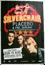 Huge SILVERCHAIR Placebo PreShrunk Bris. '99 Gig Poster