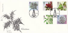(16474) GB Fourpenny FDC Christmas Trafalgar Square Tree 5 November 2002