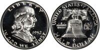 1952 Franklin Half Dollar Choice Proof