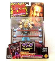 WCW DIAMOND DALLAS PAGE SMASH N SLAM WITH BREAKAWAY CROWD CONTROL GATE FIGURE