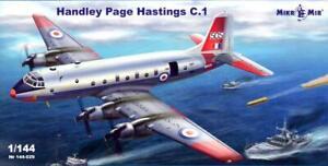 MikroMir Models 1/144 HANDLEY PAGE HASTINGS C.I British Transport