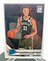 Nicolas Claxton ROOKIE Card - 2019-20 Donruss Optic Rated Rookie Card #171 Nets