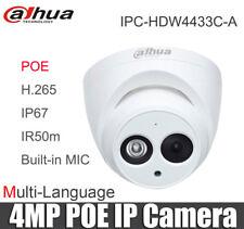 Dahua 4MP Dome IP Camera IPC-HDW4433C-A  POE 2.8mm Lens IR 50m Network Camera