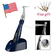 Dental LED Cordless Endo Motor Root Canal Endodontics Treatment 16:1 handpiece