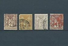 FRANCE SAGE - 1883 YT 85 à 88 - TYPE II - COTE 61,00 €