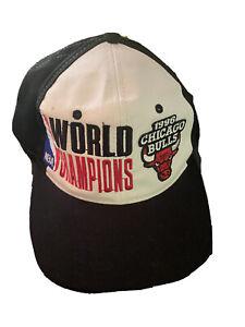 Chicago Bulls Vintage Hat Snapback Adjustable Cap (Basketball)