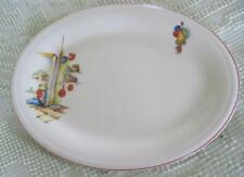 "Edwin Knowles China Tia Juana 10"" X 13.5"" Oval Serving Platter"