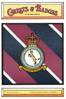 Postcard RAF Royal Air Force Station HEMSWELL Crest Badge No.129 NEW