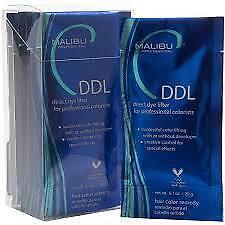 6 x Malibu C DDL Direct Dye Lifter New