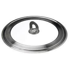 STABIL Stainless Steel and Glass Pot Lid Fits Most Pans  IKEA