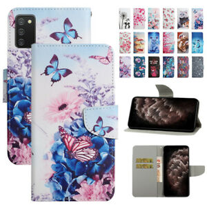 For Samsung Galaxy A03S A12 A22 A32 A42 Flip Wallet Magnetic Leather Phone Case