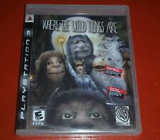 Where the Wild Things Are (Sony PlayStation 3, 2009 Ps3) -New