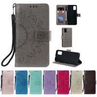 Samsung Galaxy A71 Handy Hülle Flip Case Schutzhülle Cover Tasche Etui Mandala