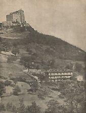 D0069 Sant'Ambrogio di Torino - Sagra di San Michele - Stampa - 1925 old print