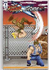 STREET FIGHTER x G.I. JOE #1 Sub Cover B 1:10 1st Print Variant 8 Bit Jinx 2016
