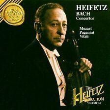 BACH  Concertos -Volume 24- HEIFETZ Collection- CD