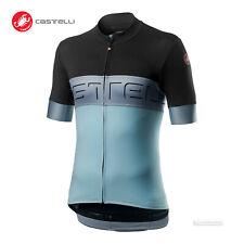 Castelli PROLOGO VI Short Sleeve Cycling Jersey : DARK GRY/VORTEX/WINTER SKY