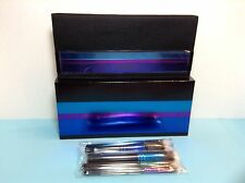 MAC - ENCHANTED - 4 PIECE EYE BRUSH KIT/ MINERALIZE - WITH CARRYING CASE - BOXED