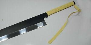 Bleach Anime Ichigo's Zangetsu Cutting Moon Sword