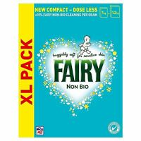 Fairy Non-Bio Laundry Washing Powder Detergent, Sensitive Skin - 2.6KG 40 Washes