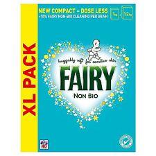 Fairy Non-Bio Blanchisserie Lessive en Poudre Détergent,Peau Sensible - 2.6kg 40