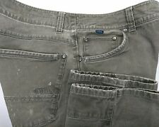 KUHL RYDR Ryder Vintage Patina Dye Gray Pants Outdoor Cotton Men's Size 36 x 30