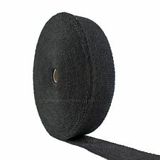 """MOTORCYCLE PIPE EXHAUST WRAP BLACK 2"""" X 100 FT HARLEY CHOPPER BOBBER INDIAN"""