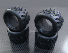 F+R Rubber Rad Tire /w Insert for Kyosho Mini-Z Monster