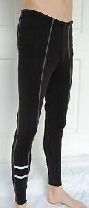 Cycling Bike Run Roubaix Tights Pants leggins Warmers reflector Uni size S