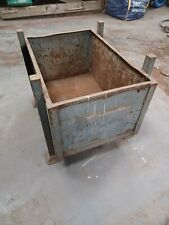 More details for industrial metal stackable box